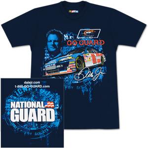Dale Jr Nat'l Guard Track Down T-Shirt