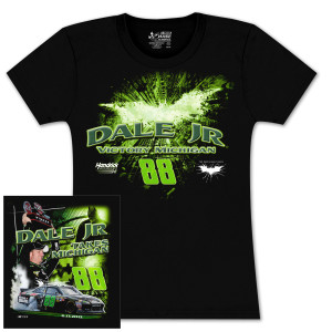 Dale Jr Michigan WIN 2012 Ladies T-shirt