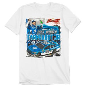Dale Jr. #88 2015 BUDWEISER DUEL Race Winner T-shirt