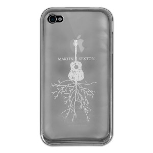 Martin Sexton Rootsy iPhone 4S Case
