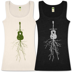 Women's Rootsy Guitar Tank Top
