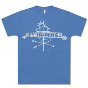 Unisex Royal Falls Like Rain Vintage T-shirt.