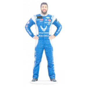 "#43 Bubba Wallace Airforce 3.5"" 3D Printed Figurine"