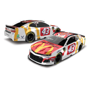 Bubba Wallace #43 2019 NASCAR McDonald's Team Bacon 1:24 ELITE Die-Cast