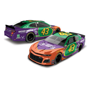 Bubba Wallace #43 2019 Victory Junction Darlington Monster Energy NASCAR Cup Serie Elite 1:24 - Die Cast