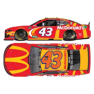 Bubba Wallace Jr. #43 McDonald's 2020 NASCAR Cup Series 1:64 - Die Cast
