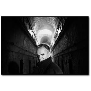Sting in Prison Hallway - Philadelphia - 2001
