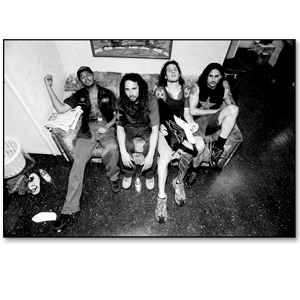 Rage Against The Machine - Backstage