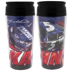 Kasey Kahne #5 Farmers 16oz Travel Mug Contour