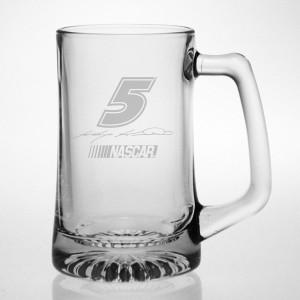 Kasey Kahne 15oz Etched Tankard Glass