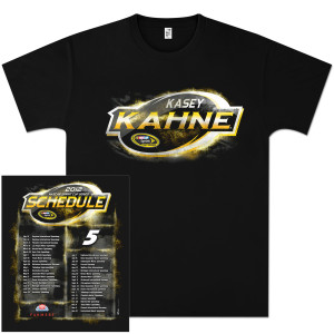 Kasey Kahne #5 Farmers Insurance Schedule T-shirt
