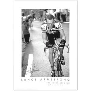 2000 Tour de France - Lance Armstrong at Hautacam Poster
