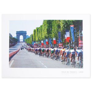 2004 Tour de France - Champs Elysee Poster