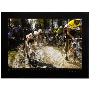 1988 Paris Roubaix - Bob Roll Poster