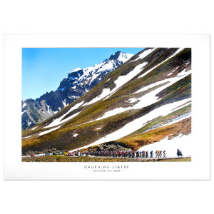 2009 Dauphine – Libere - Col du Galibier Poster