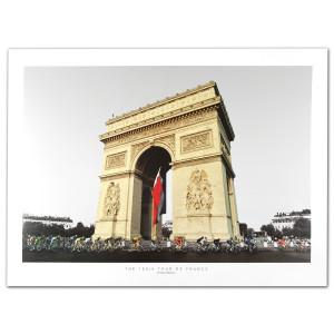 The 100th Tour de France Poster