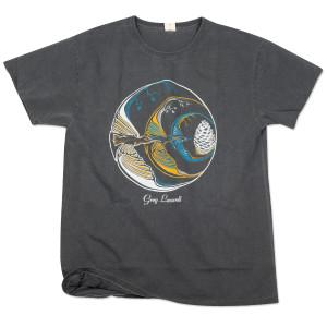 Circle of Birds Grey T-Shirt