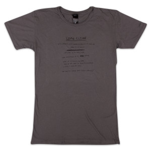 Ladies Vintage Come Clean T-Shirt