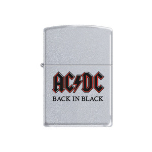 Back in Black Zippo Lighter