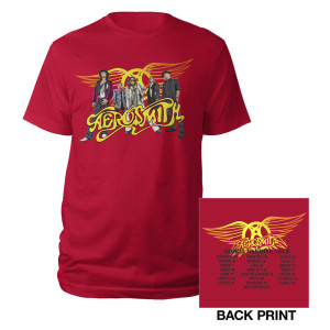 Aerosmith Band Shot Tour Tee