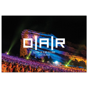 O.A.R. Live on Red Rocks Poster