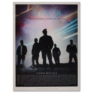 O.A.R. The Perfect Summer Night 2014 Tour Poster
