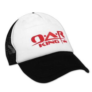 O.A.R. King Red Logo Trucker Hat