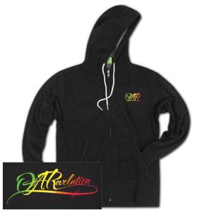 O.A.R. Rasta Men's Zip Hoodie