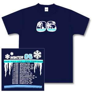 O.A.R. Navy Blue Winter 06 Tour T-Shirt