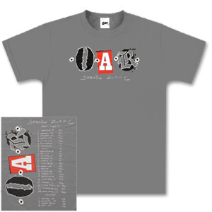 O.A.R. Spring 2006 Tour T-shirt