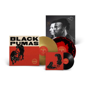 Black Pumas (Deluxe Edition) – Colored Vinyl + Autographed Poster