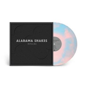 "Alabama Shakes -Boys & Girls ""Platinum Anniversary"" Colored Vinyl Reissue (Pink/Turquoise Swirl)"