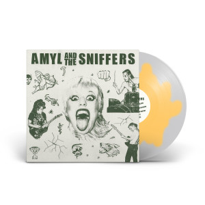 Amyl and The Sniffers Limited-Edition Egg Splatter Vinyl
