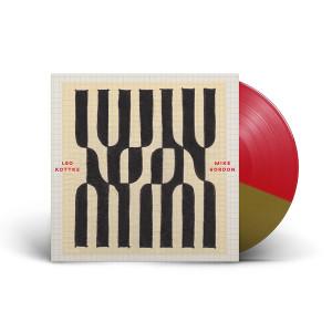 "Leo Kottke & Mike Gordon – ""Noon"" Red/Gold Split Colored Vinyl"