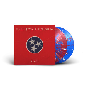 Old Crow Medicine Show – Remedy  (Deluxe Red, White and Blue Splatter Vinyl)