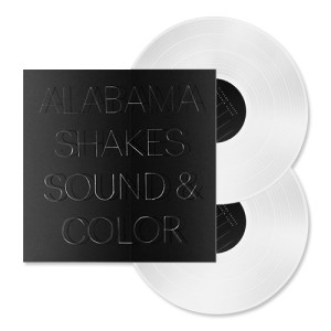 "Alabama Shakes – ""Sound & Color"" Clear 2xLP (Standard Weight Vinyl)"
