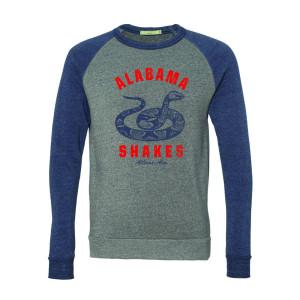 Alabama Shakes Snake Colorblock Sweatshirt