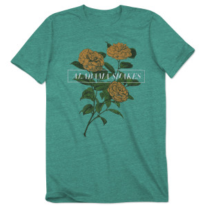 Alabama Shakes Tri- Lemon Flowers Women's T-Shirt