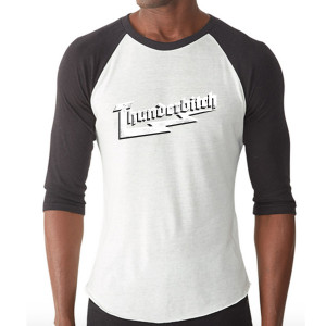 Thunderbitch Logo Raglan