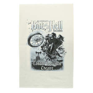 Bat Out Of Hell Tea Towel