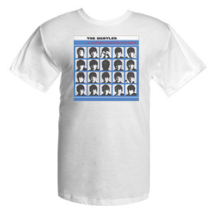 The Beatles A Hard Day's Night Album Cover Shirt