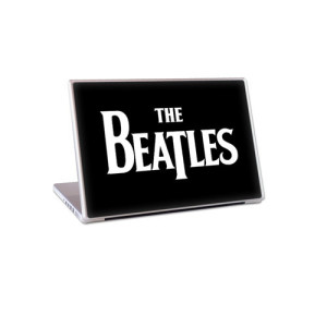 "The Beatles Logo 13"" Lap Top Skin"