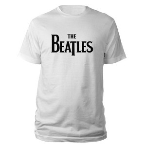 The Beatles Black Logo Shirt