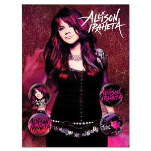 Allison Iraheta 4-Button Set