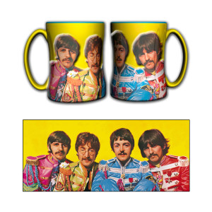 14OZ Beatles St Peppers Relief Mug
