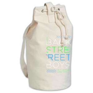 Backstreet Boys Type Lines Beach Bag