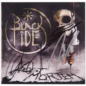 Black Tide Autographed CD Booklet