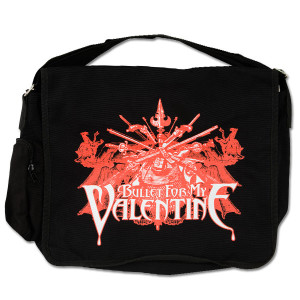 Bullet for My Valentine Messenger Bag- Sword Burst Logo