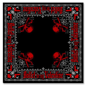 Bullet For My Valentine Ornate Squares Bandana