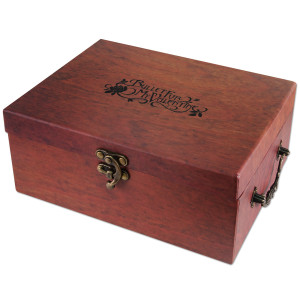 Bullet For My Valentine Faux Wood Box